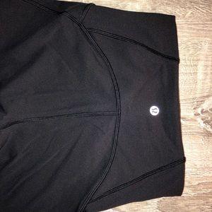Black Lululemon leggings size 2